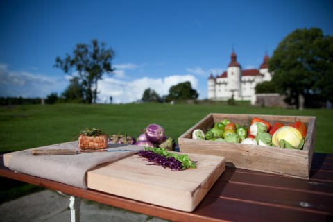 Läckö Slotts matmarknad Foto: Jesper Anhede