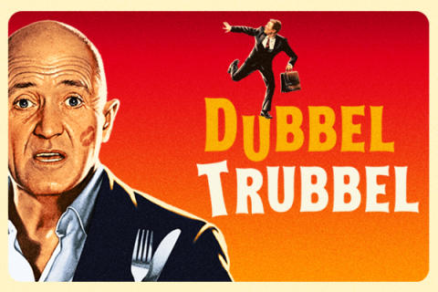 "Thomas Petersson tar komiska komedin ""DubbelTrubbel"" till Krusenstiernska Teatern sommaren 2018!"