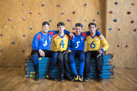 Echipa de GoalBall din Romania