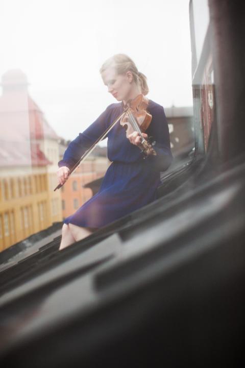 Ida Meidell Blylod är en av riksspelemännen som spelar i konserten Guld och silver 8 augusti 2014.