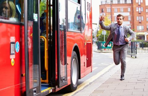 Ny tjänst för bussförare underlättar byten