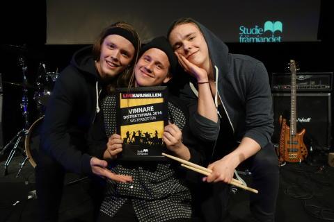 Bandet Projekt 8 från Hörnefors