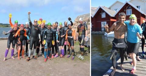 Kickstarta swimrunsäsongen i norra Bohuslän