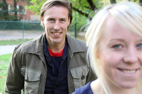 Johan Fyrberg - på framtidsturné för att ta reda på om hästnäringen håller rätt tempo för omvärlden
