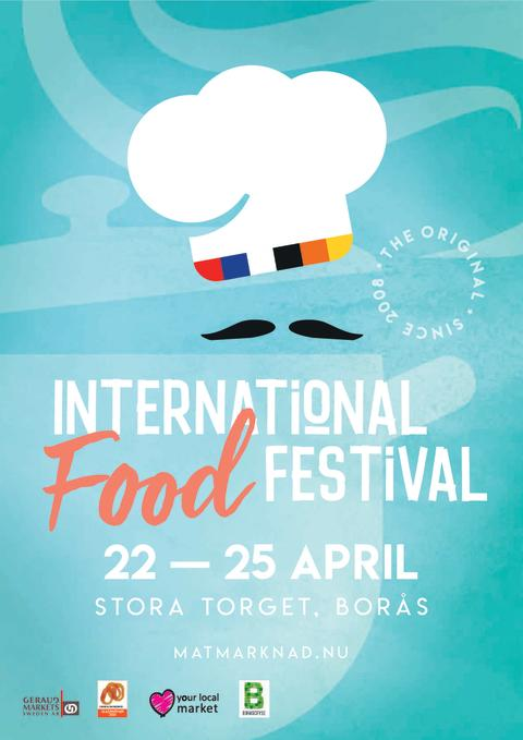 ​International Street Market 22-25 april på Stora Torget