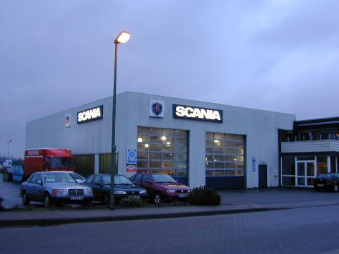 Scania Danmark lukker serviceanlæg i Flensborg