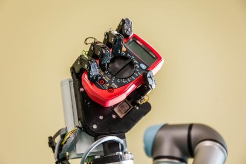 Możliwości chwytne dłoni robotycznej