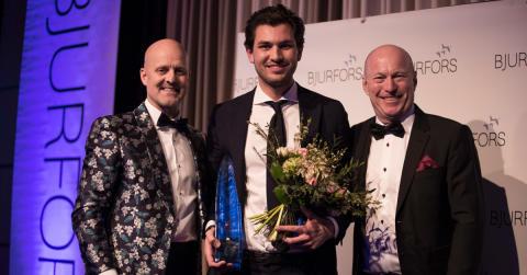 Han är årets Bjurforsmäklare 2017 - tog hem titeln för femte året i rad