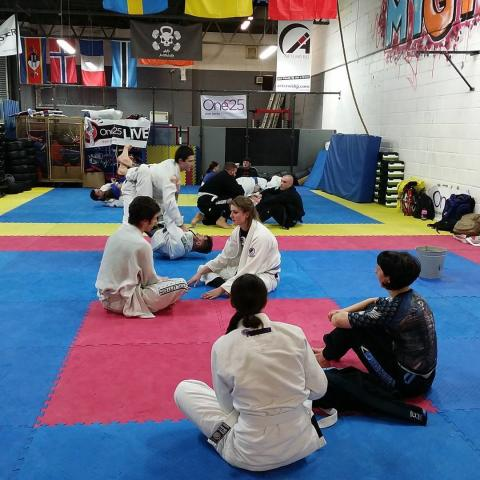 24 hour GrappleThon at Artemis BJJ in Bristol for charity...