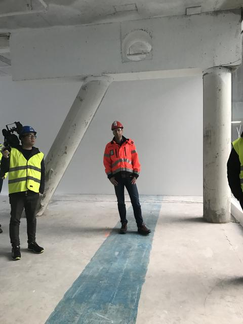 Byggeplassbefaring Media City Bergen