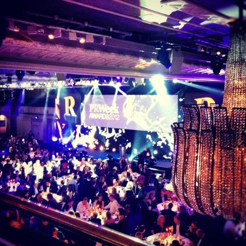 PR Week Awards 2012