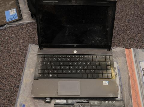 Laptop seized from John Farrell's house
