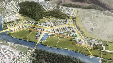 Pressinbjudan: Nu ska nya stadsdelen Jakobsberg ta form