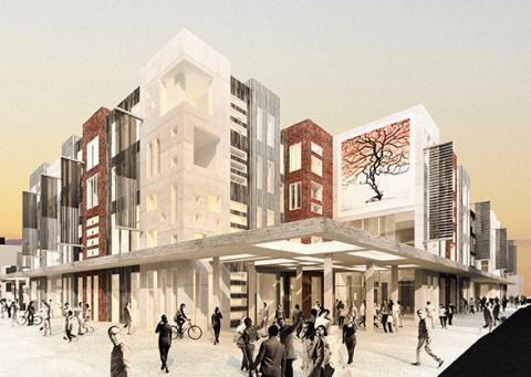 Tari projekterar södra Estlands största handels- och nöjeskvarter