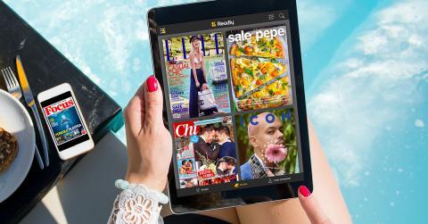 Letture sotto l'ombrellone: è l'estate del digitale