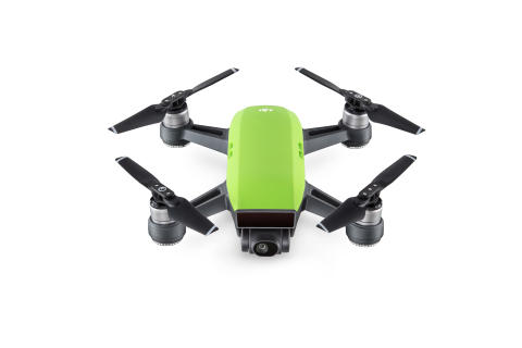 DJI Spark Meadow Green - Front 3:4