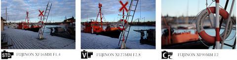 Testa våra objektiv på - fujifilmxmount.com