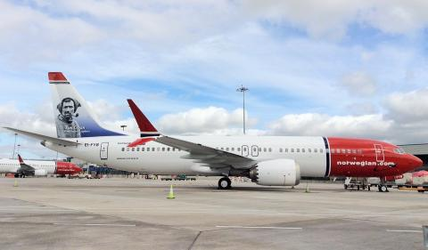 ​Tom Crean takes to the skies this weekend as Norwegian's first Irish tailfin hero takes flight