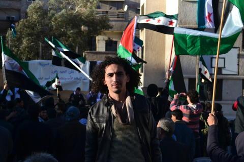 Abdullah al-Khateeb, 2016 års Per Anger-pristagare.