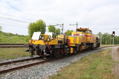 Strukton Rails mätvagn Hedwig
