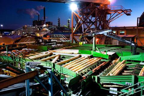 Prestationsbaserat avtal hjälper Iggesunds sågverk att nå sina mål