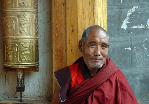 Tibetansk munk