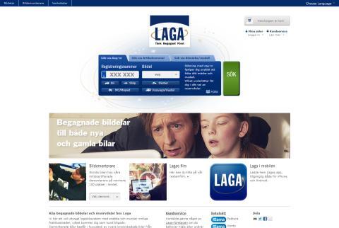 Laga.se lanserar ny e-handel med miljontals artiklar baserad på Litium Studio