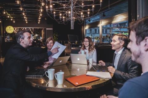 Palaver lanserar kontorsplats på stan för 499 kronor i månaden