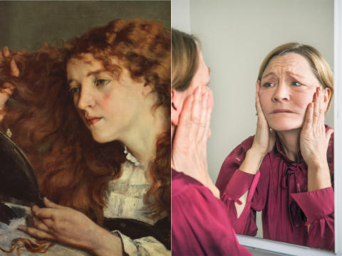 Selfies now and then in Nationalmuseum's highlights exhibition