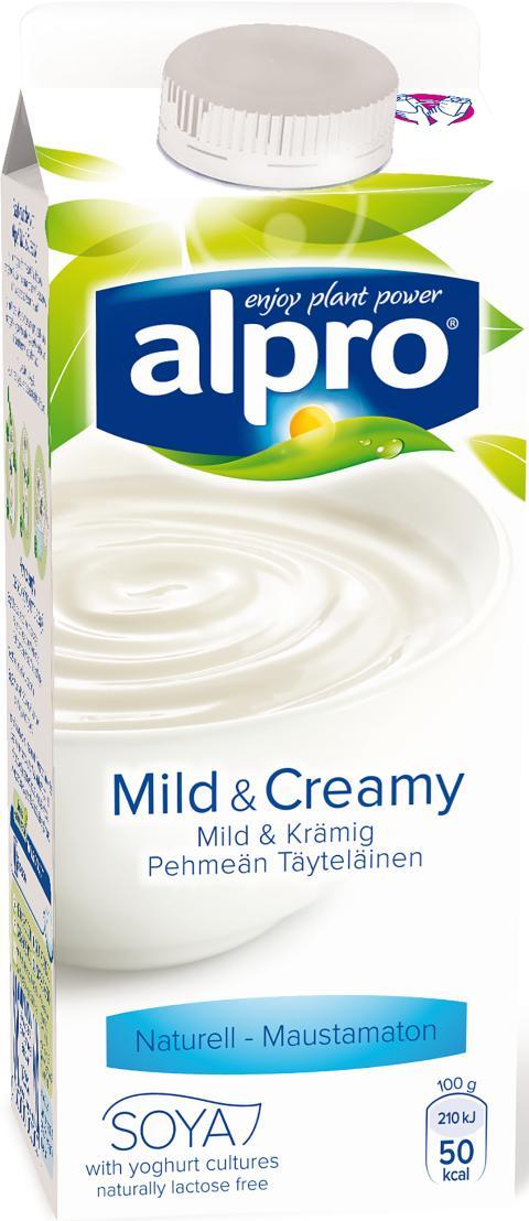 Alpro Mild & Creamy Naturell
