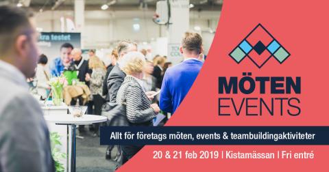 Hotell Kristina ställer ut på Möten & Events med IACC Sweden