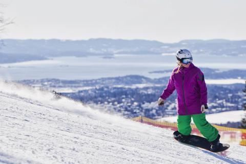 Oslo Vinterpark - Skidorten mitt i city