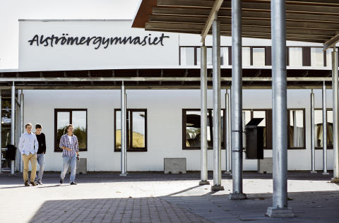 Inbjudan - pressinformation om Alströmergymnasiet