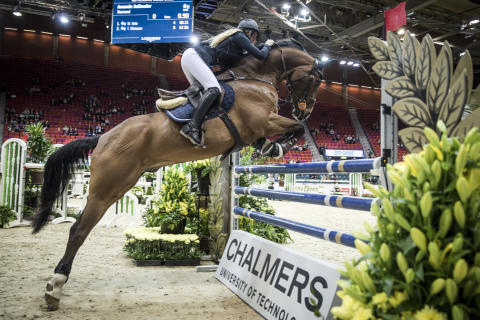 Chalmers smarta hinder på Gothenburg Horse Show 2016.