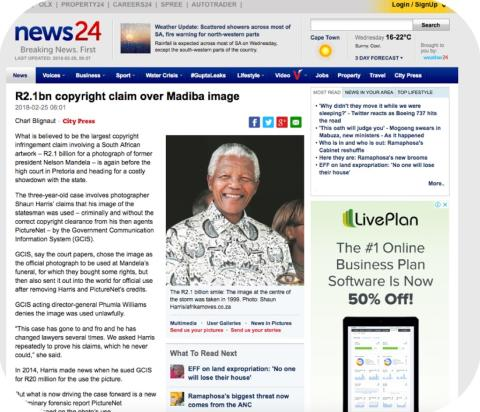 The fight over Mandela's R2.1billion smile