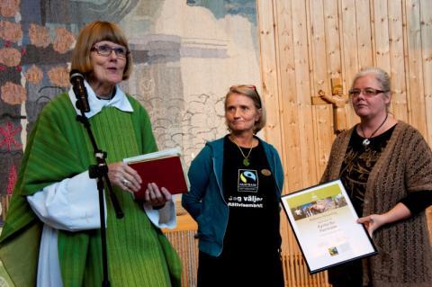 Femton församlingar blir Kyrka för Fairtrade under Fairtrade fokus 2012