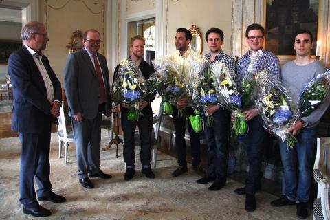 Team Värmland hyllas för sina curlingframgångar