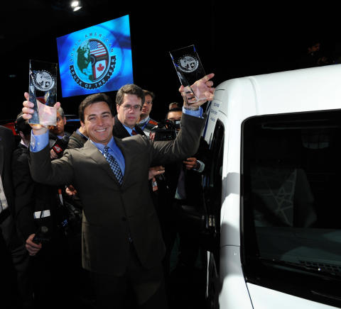 "FORD TRANSIT CONNECT UTSEDD TILL ""TRUCK OF THE YEAR"" I NORDAMERIKA"