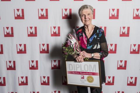 Barbro Westerholm - Årets Maktmappie 2015