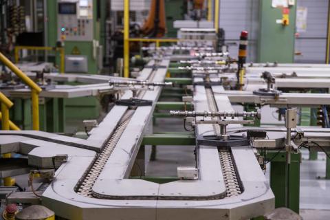 Drillenisser på Ford-fabrik