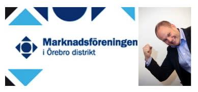 Örebros Marknadsförening bjuder in till Max Söderpalm på fredag