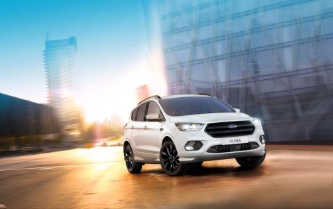 A Ford az új, sportos Kuga ST-Line modellel gazdagítja SUV-kínálatát; ezzel tovább bővül az ST-Line modellcsalád