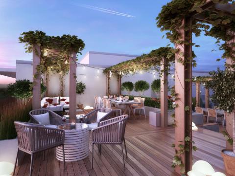 Sjödalsterrassen terrass lounge