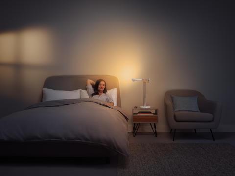 Dyson Lightcycle Morph lampe de bureau_blanc_mode Sommeil