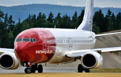 Norwegians Boeing 737-800 LN-NOE