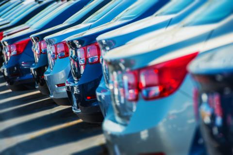 Nya bilar ökade med 2 procent i juli