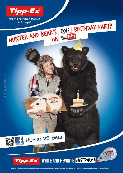 Tipp-Exin® Karhu ja metsästäjä ovat täällä taas!