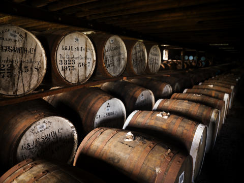 The Glenlivet Barrels