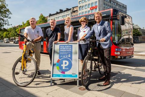 Parken Plus - Ticket vorzeigen und Geld zurück in der Kieler Innenstadt