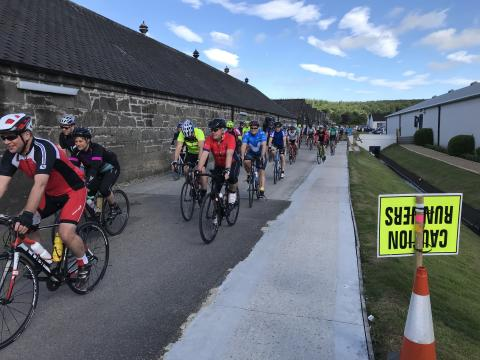 Glen Moray Bike Ride attracts record numbers